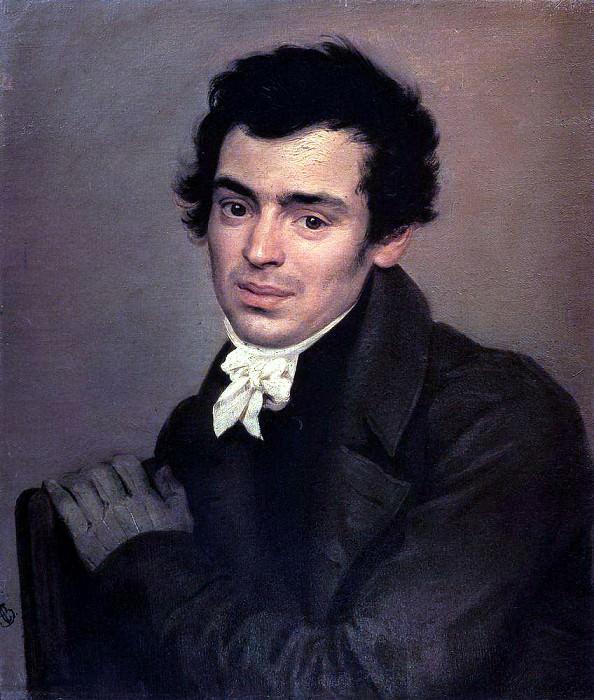 Портрет архитектора К. А. Тона. 1823-1827. Карл Павлович Брюллов