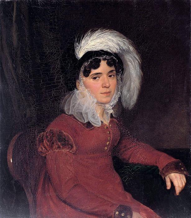 Portrait of M.A. Kikina. Karl Pavlovich Bryullov