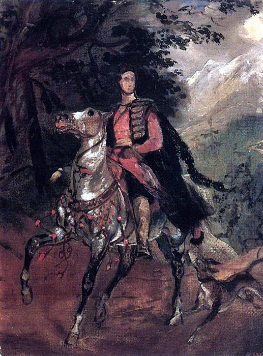 Portrait of AN Demidov. Study. Karl Pavlovich Bryullov
