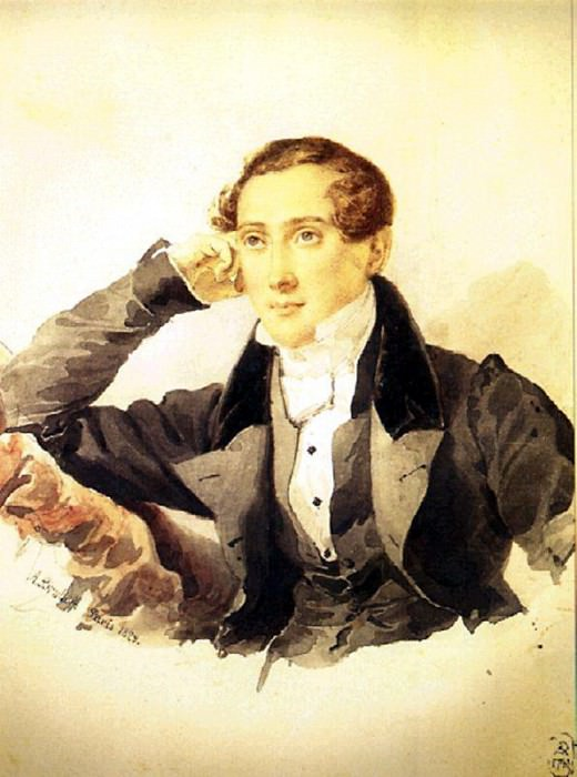 Portrait of a Man. 1829. Karl Pavlovich Bryullov