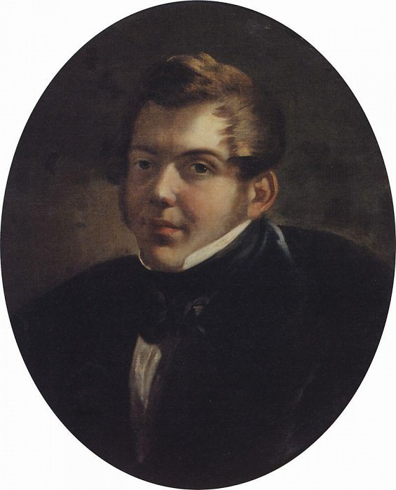Portrait of the architect MO Lopyrevskogo. 1836. Karl Pavlovich Bryullov