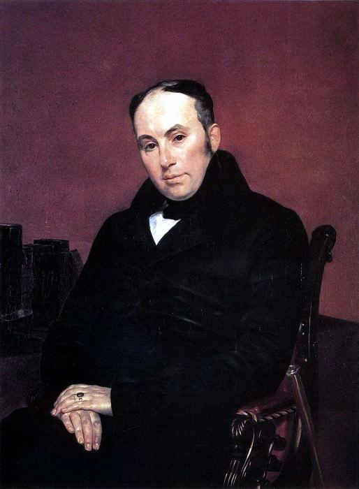 Portrait of the poet Vasily Zhukovsky. 1837. Karl Pavlovich Bryullov