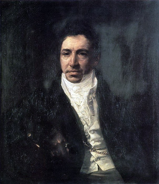 Portrait of the Secretary of State PA Kikin. 1821-1822. Karl Pavlovich Bryullov