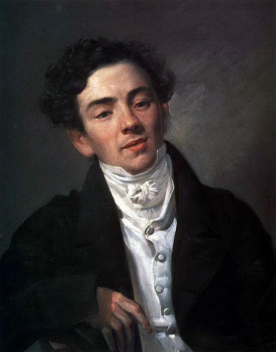 Portrait of the actor AN Ramazanova. 1821-1822. Karl Pavlovich Bryullov