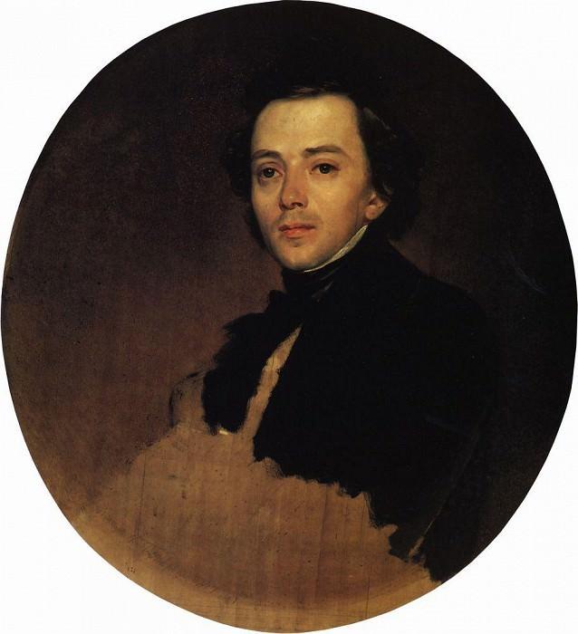 Portrait of the actor Vladimir Samoilov. 1847. Karl Pavlovich Bryullov