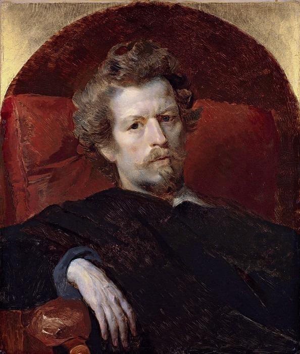 Self-portrait. 1848. Karl Pavlovich Bryullov