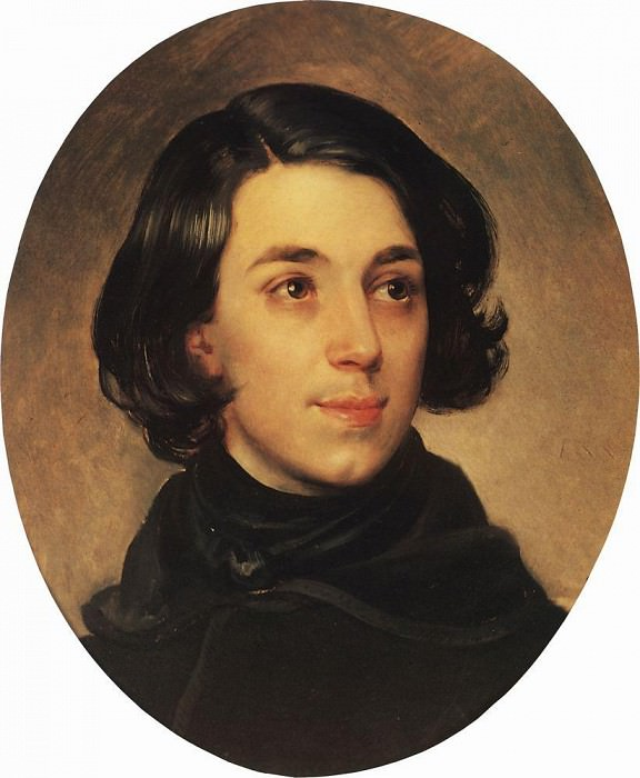 Portrait of the architect I. Monighetti. 1840. Karl Pavlovich Bryullov