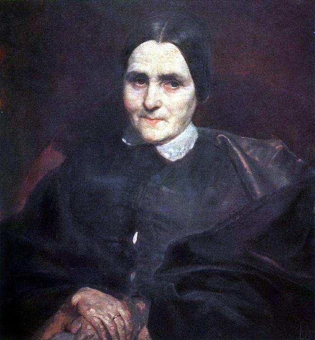 Portrait of Catherine Titton. 1850-1852. Karl Pavlovich Bryullov