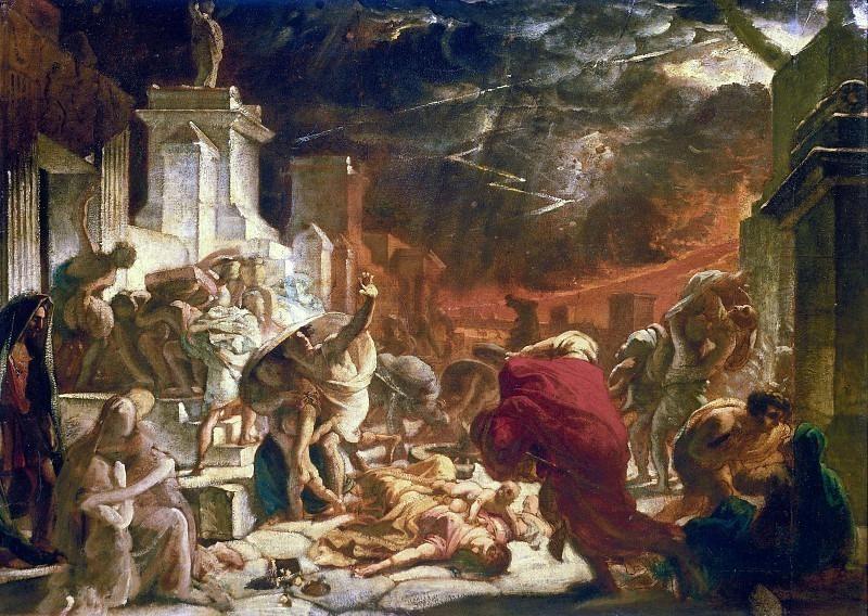 Last Days of Pompeii.. Karl Pavlovich Bryullov