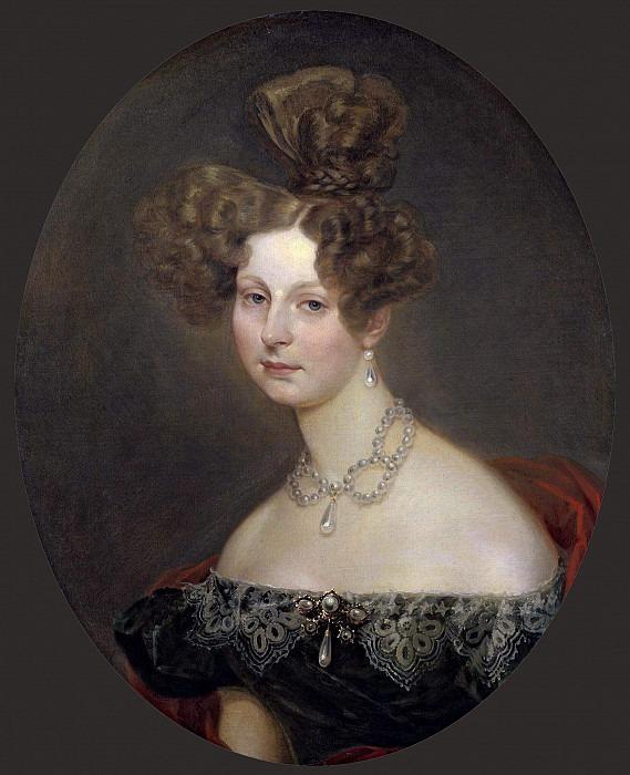 Portrait of Grand Duchess Elena Pavlovna. Karl Pavlovich Bryullov