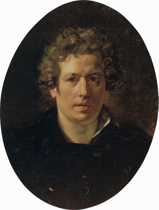 Self-portrait. Around 1833. Karl Pavlovich Bryullov