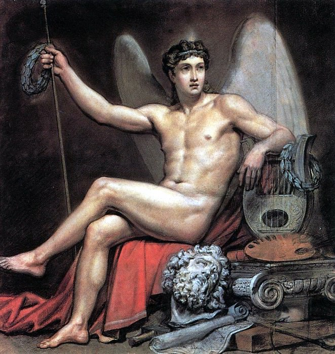 Genius of Art. 1817-1820. Karl Pavlovich Bryullov