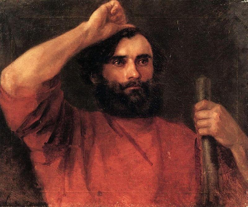 sitter. 1821-1822. Karl Pavlovich Bryullov