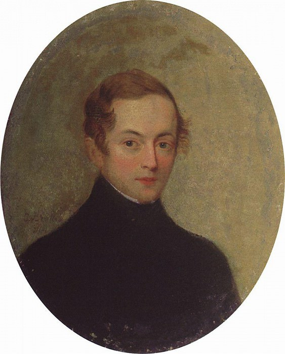 Portrait of an unknown. Karl Pavlovich Bryullov