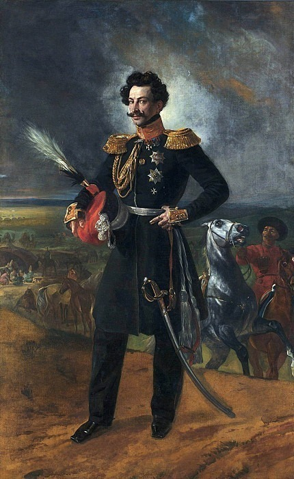 Portrait of General-adjutant Count Vasily Alekseevich Perovski.. Karl Pavlovich Bryullov