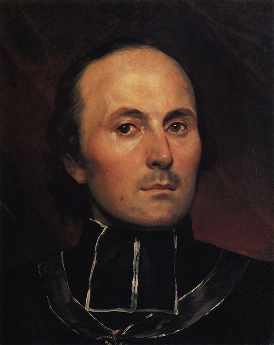 Head Abbot. 1850. Karl Pavlovich Bryullov