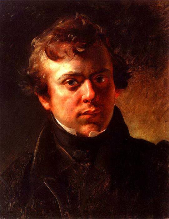 Portrait AM GORNOSTAYEVA. 1834. Karl Pavlovich Bryullov