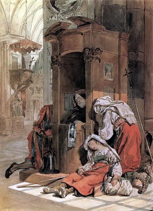 Confessions of an Italian. 1827-1830. Karl Pavlovich Bryullov