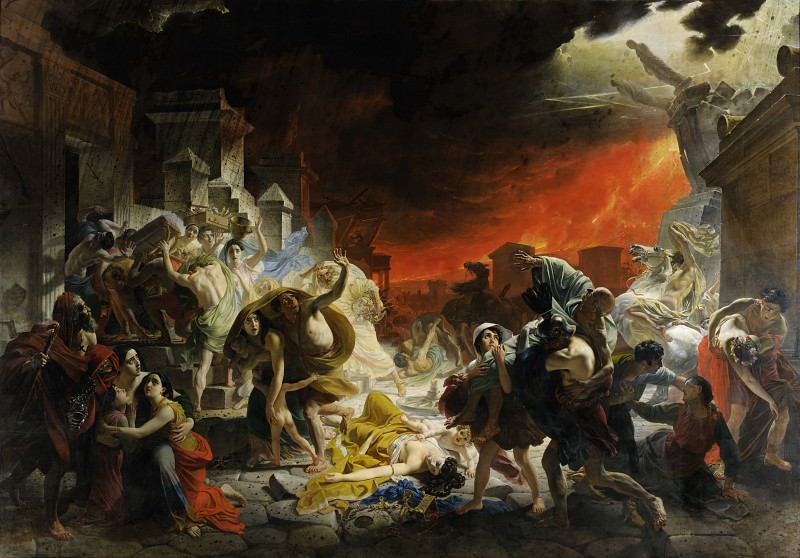 BRYULLOV Karl - The Last Days of Pompeii. 900 Classic russian paintings