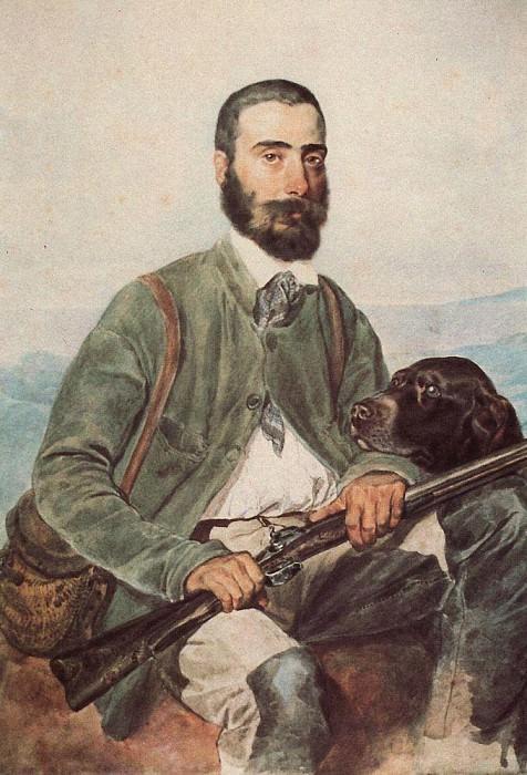 Портрет Мариано Титтони. 1850-1852. Карл Павлович Брюллов