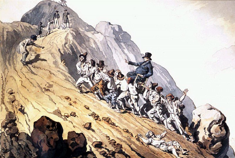 Ascension Baron Schilling. 1824. Karl Pavlovich Bryullov