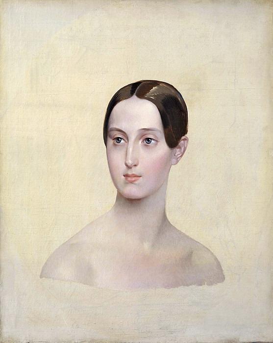 Portrait of Grand Duchess Maria Nikolaevna. Karl Pavlovich Bryullov