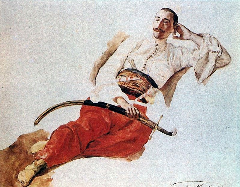 Портрет П. А. Чихачева. 1835. Карл Павлович Брюллов