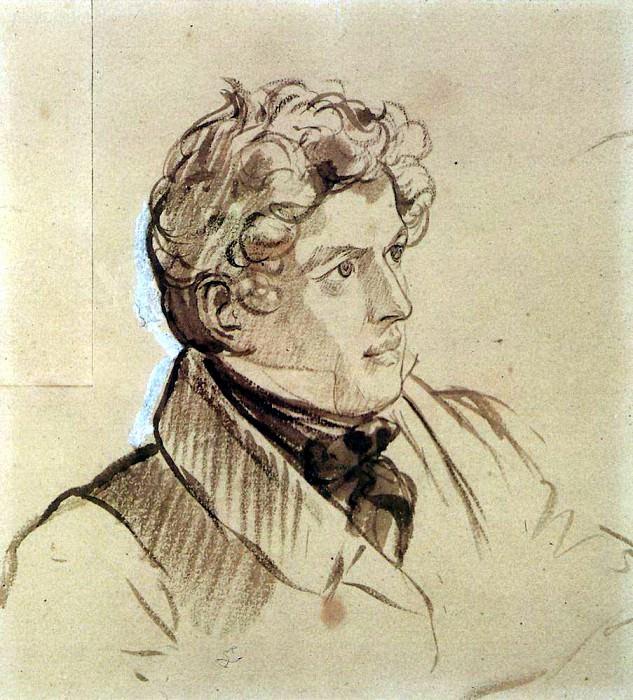 Self-portrait. 1830-1833. Karl Pavlovich Bryullov