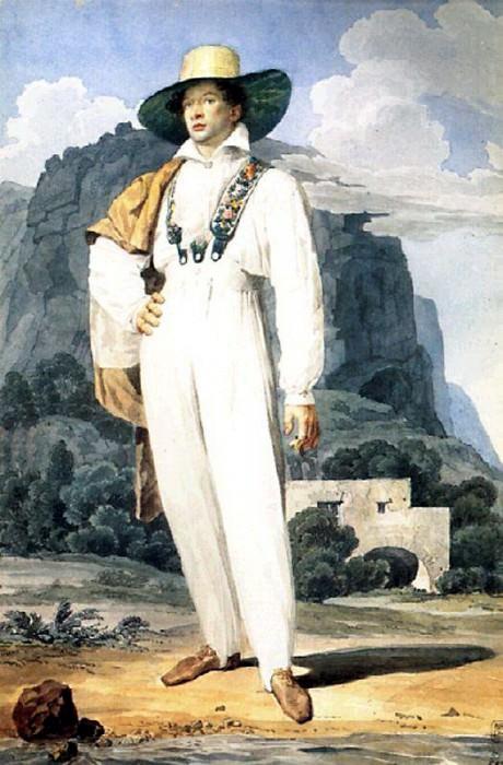 Портрет В. А. Перовского. 1824. Карл Павлович Брюллов