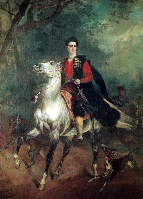 Portrait of AN Demidov. 1831-1852. Karl Pavlovich Bryullov