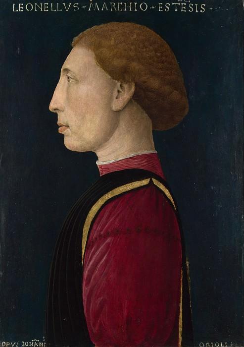 Giovanni da Oriolo - Leonello dEste. Part 3 National Gallery UK