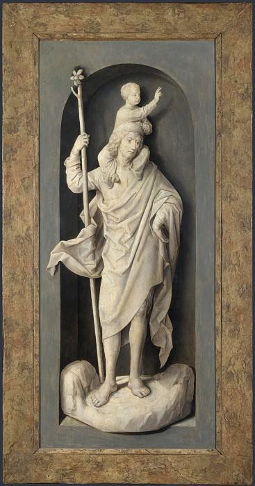 Hans Memling - Saint John the Baptist. Part 3 National Gallery UK