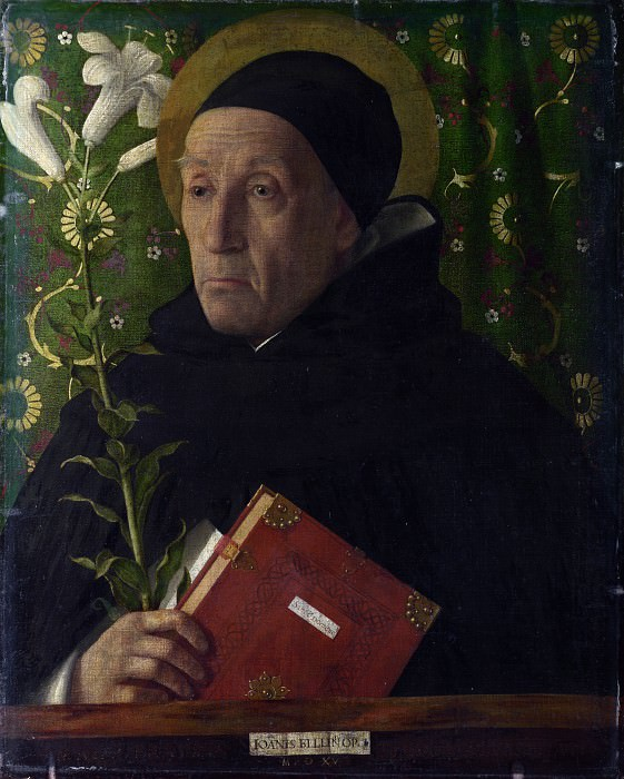 Джованни Беллини - Святой Доминик. Часть 3 Национальная галерея