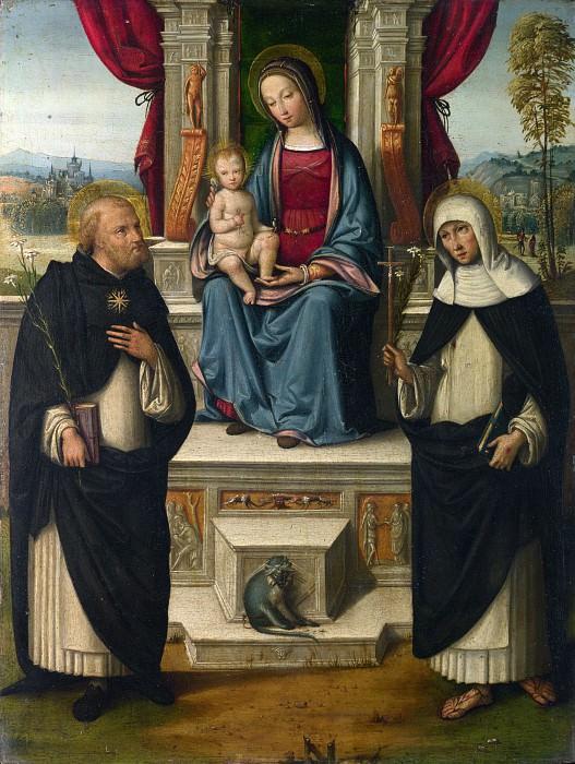 Гарофало - Мадонна с Младенцем со святыми. Часть 3 Национальная галерея