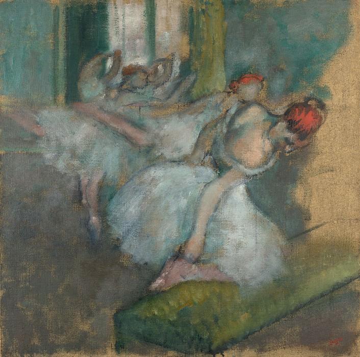 Hilaire Germain-Edgar Degas - Ballet Dancers. Part 3 National Gallery UK
