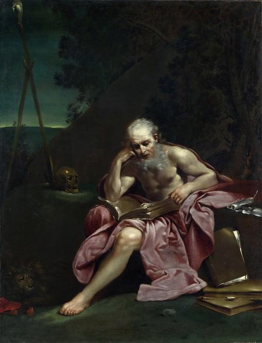 Giuseppe Maria Crespi - Saint Jerome in the Desert. Part 3 National Gallery UK