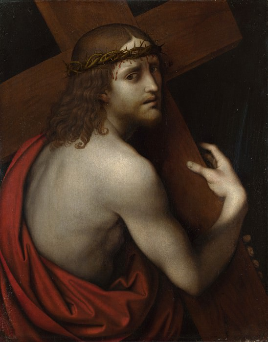 Giampietrino - Christ carrying his Cross. Part 3 National Gallery UK