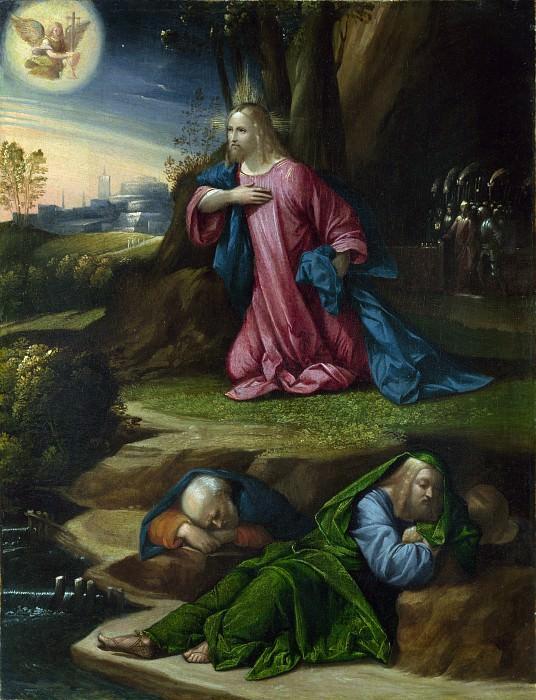 Гарофало - Моление о Чаше. Часть 3 Национальная галерея