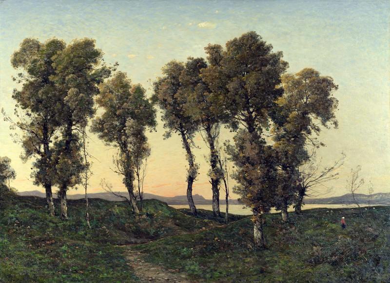 Анри-Жозеф Арпиньи - Осенний вечер. Часть 3 Национальная галерея
