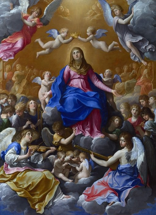 Guido Reni - The Coronation of the Virgin. Part 3 National Gallery UK