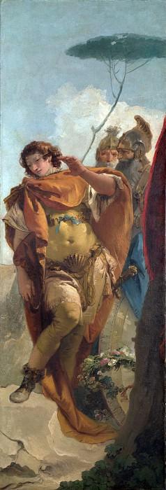 Ринальдо, увидевший свой позор в отражении алмазного щита. Джованни Баттиста Тьеполо