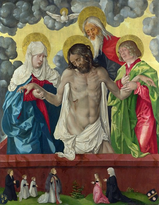 Hans Baldung Grien - The Trinity and Mystic Pieta. Part 3 National Gallery UK