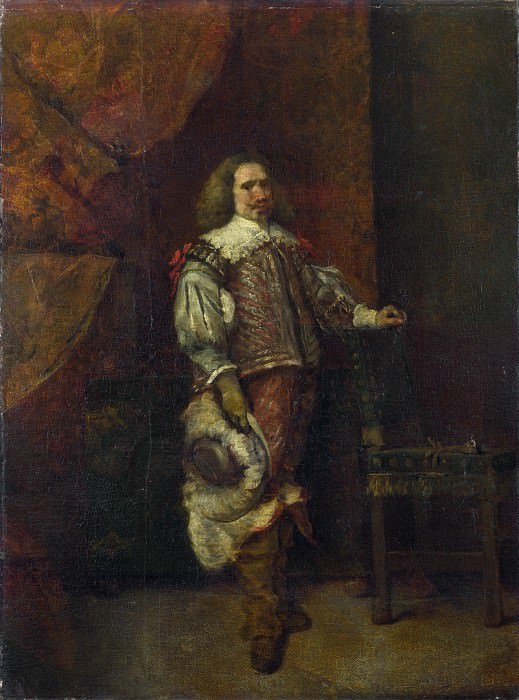 Ignacio de Leon y Escosura - A Man in 17th-Century Spanish Costume. Part 3 National Gallery UK