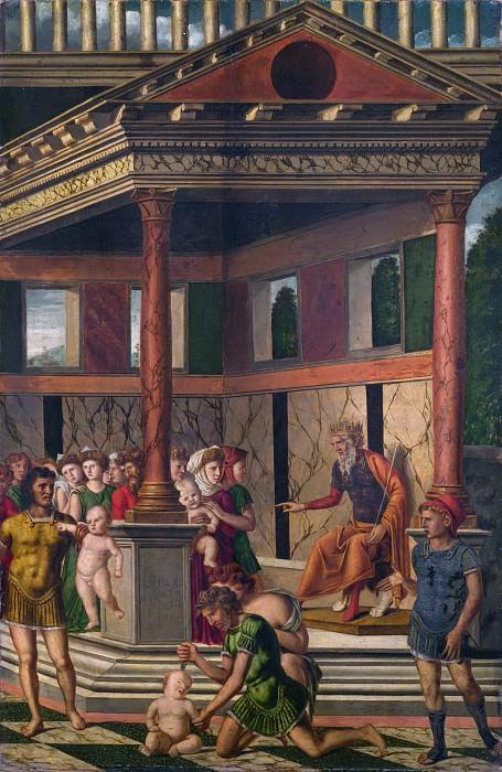 Джироламо Мочетто - Избиение младенцев при царе Ироде. Часть 3 Национальная галерея