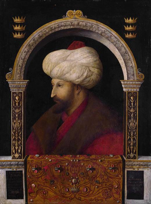 Джентиле Беллини - Султан Мехмед II. Часть 3 Национальная галерея
