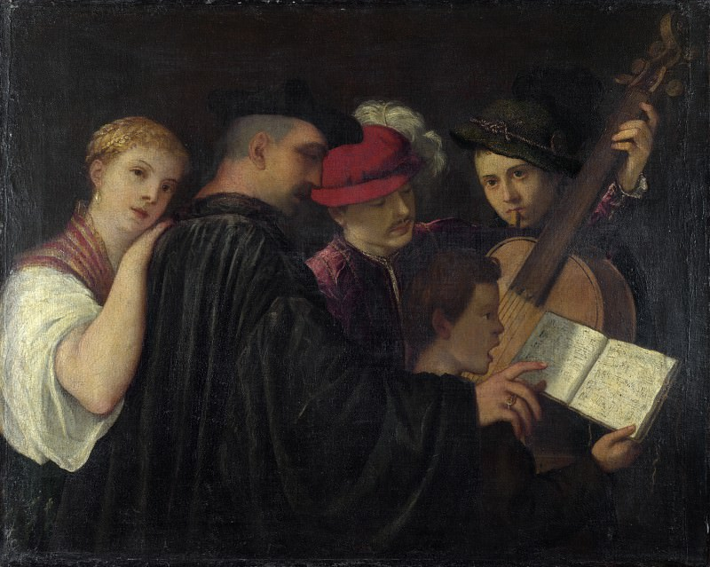 Imitator of Titian - A Concert. Part 3 National Gallery UK