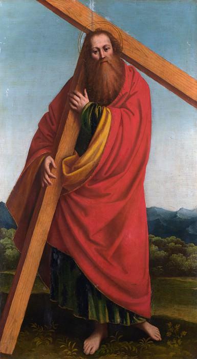 Gaudenzio Ferrari - Saint Andrew. Part 3 National Gallery UK