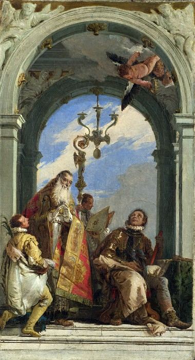 Saints Maximus and Oswald. Giovanni Battista Tiepolo