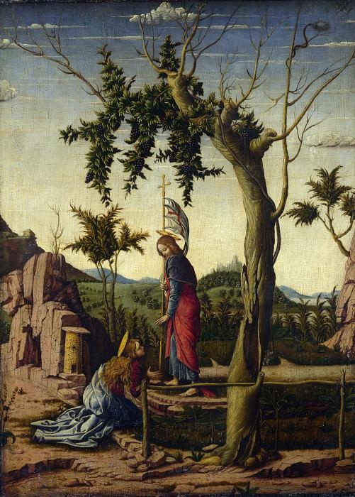 Imitator of Andrea Mantegna - Noli me Tangere. Part 3 National Gallery UK
