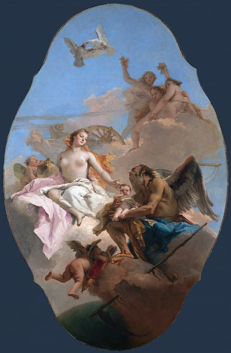 An Allegory with Venus and Time. Giovanni Battista Tiepolo
